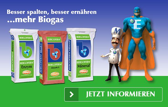 Biogas - Besser spalten, besser ernähren