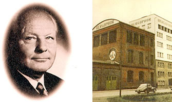 The Founder: Dr. Dr. Werner Berger - The company in Kulmbach